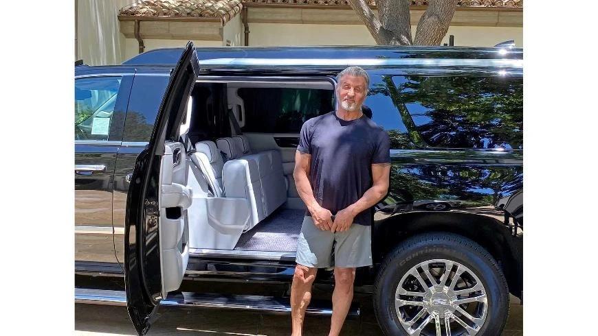 Сильвестр Сталлоне выставил на продажу свой Cadillac